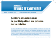 logo Juniors associations : la participation au prisme de la mixité - 2015